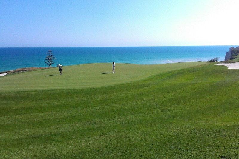 Populära golfbanor utomlands