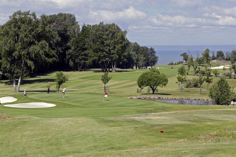 Golfbana i Sverige