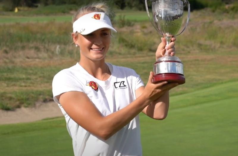 Julia Engström Lacoste Ladies Open De France 2020