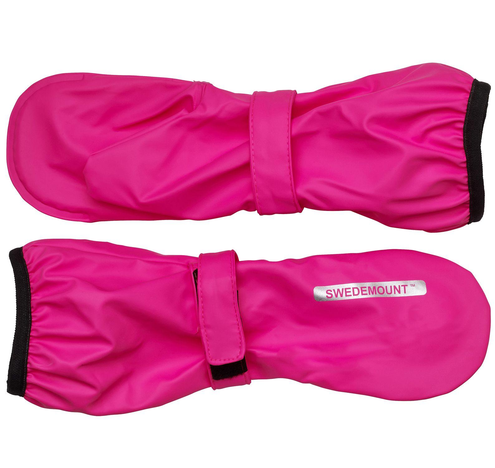 Dropp Rainglove, Pink, 6-8y, Regnkläder