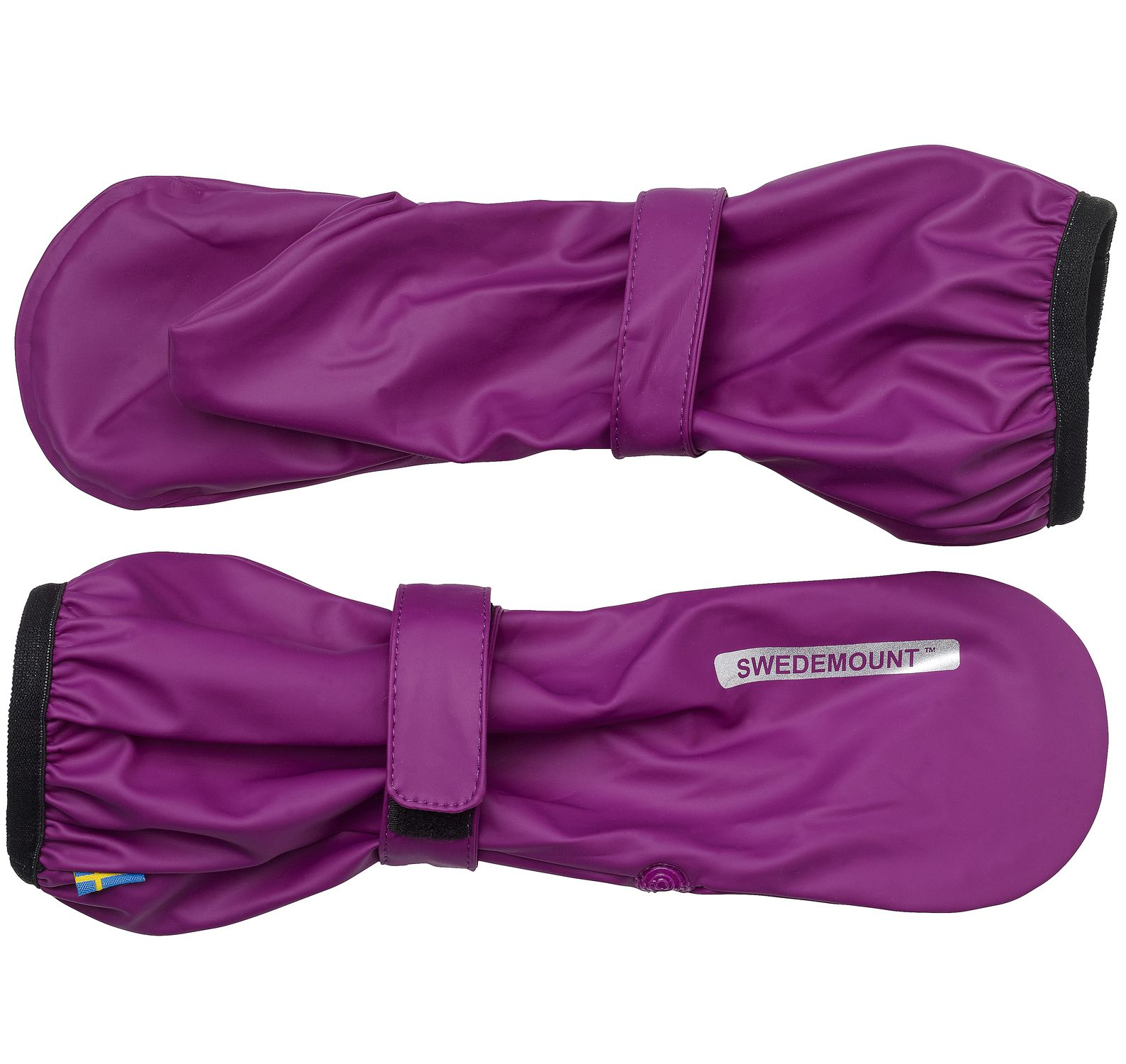 Dropp Rainglove, Purple, 6-8y, Regnkläder