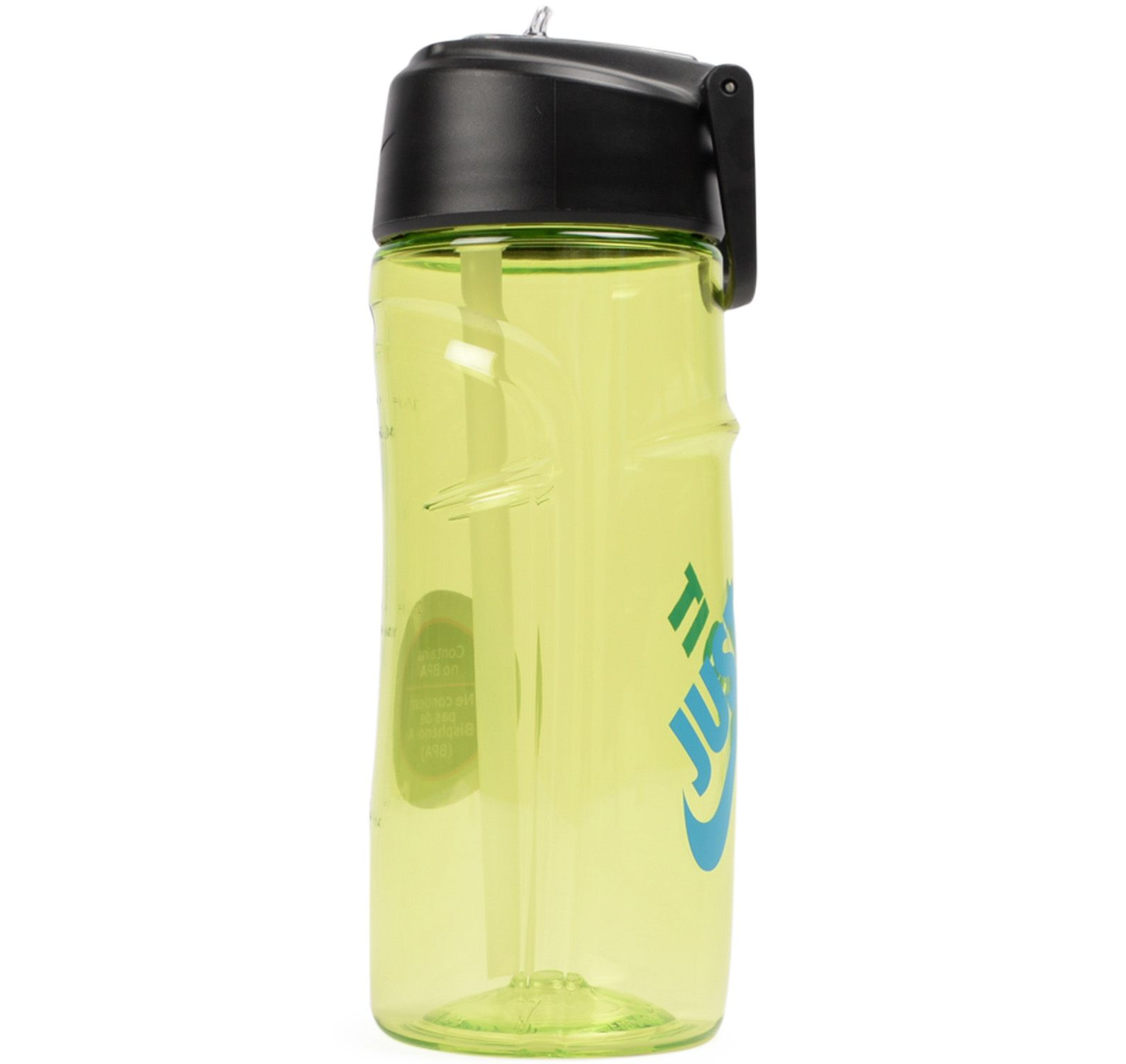 Flow Wat Bottle Just Do It 16o, Volt/Blue Lagoon, Onesize, Nike