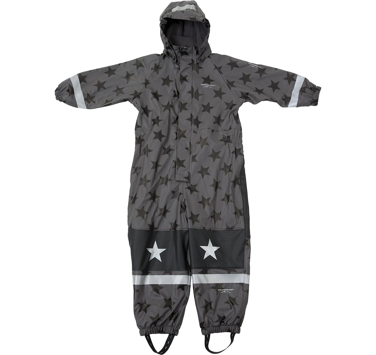 Frost Rainoverall, Graphite/Black Star, 110, Regnkläder