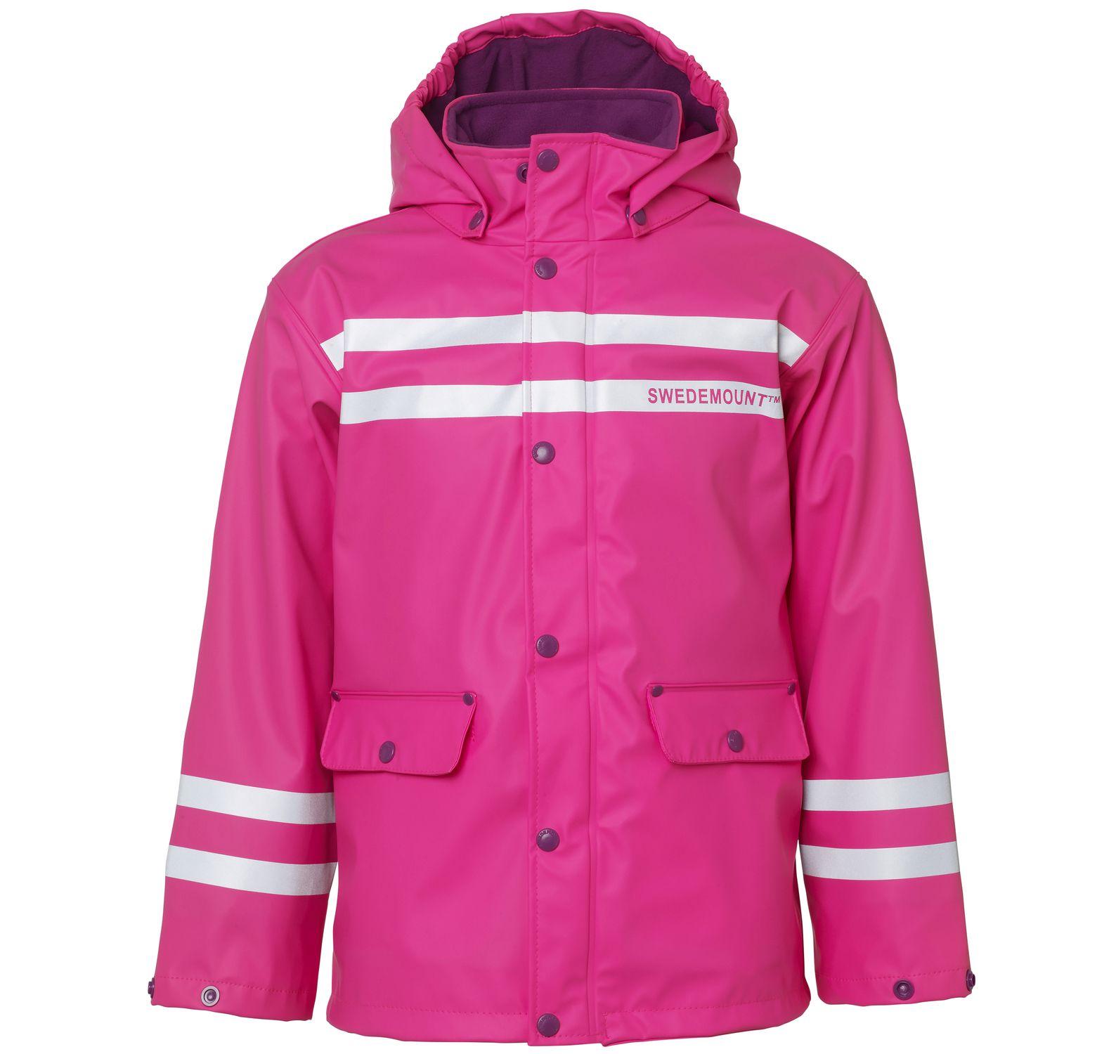 Iceflake Rain Jacket, Pink, 140, Regnkläder