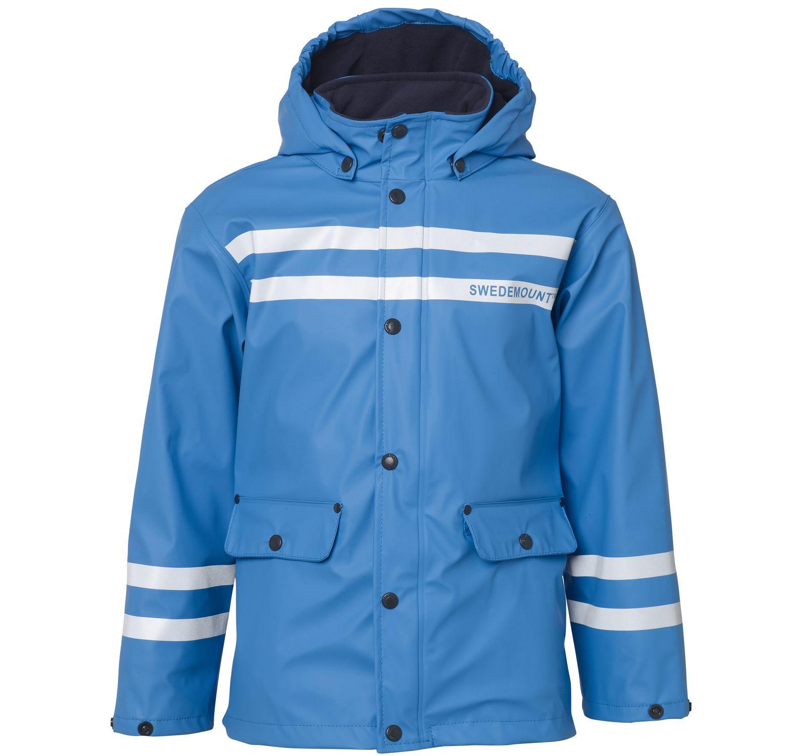 Iceflake Rain Jacket, Sea Blue, 130, Regnkläder
