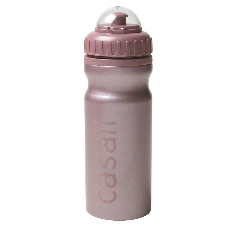 Metallic Water Bottle, Metallic Pearl Pink, Onesize, Casall