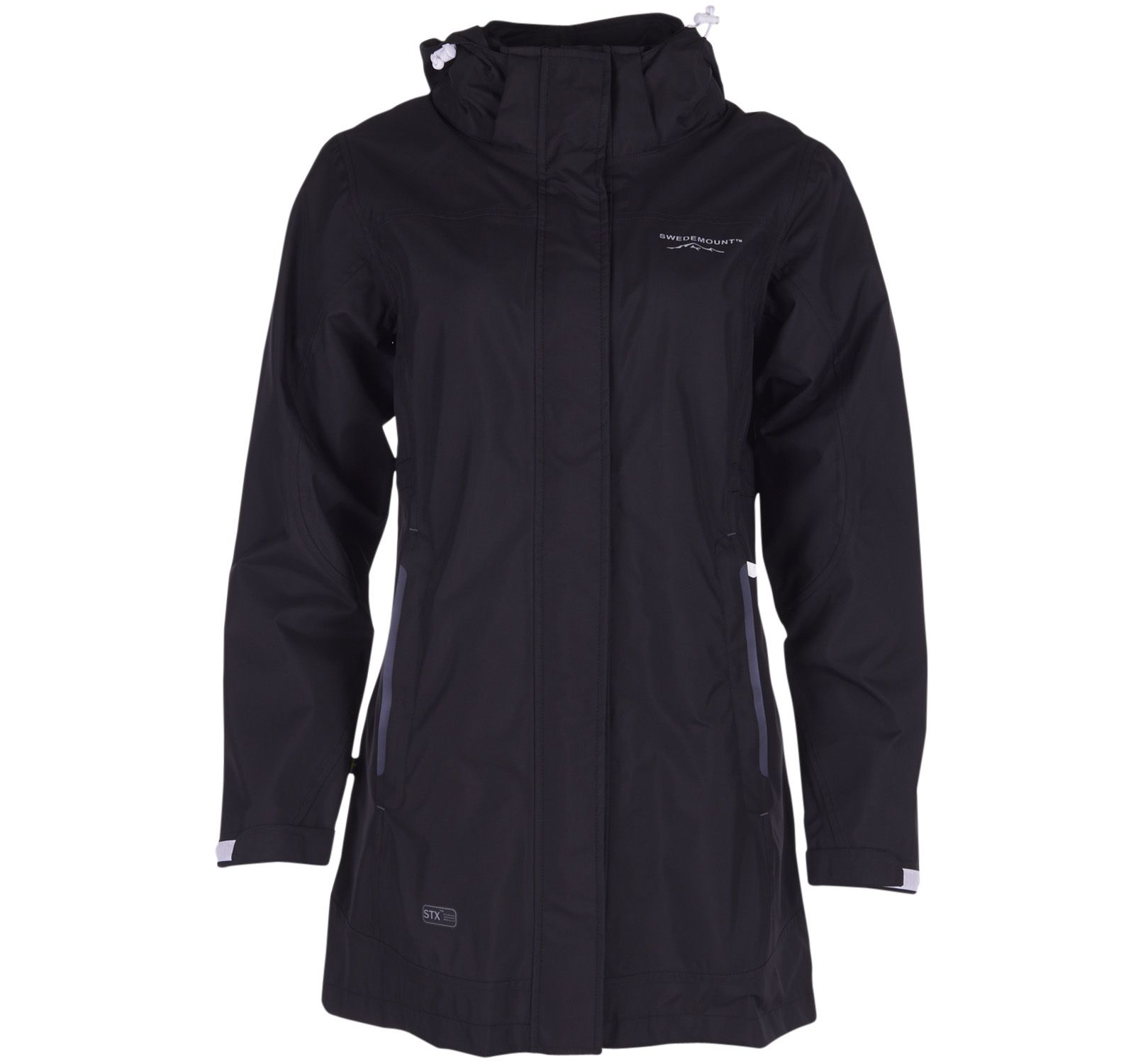 Musö Raincoat W, Black, 44, Regnkläder