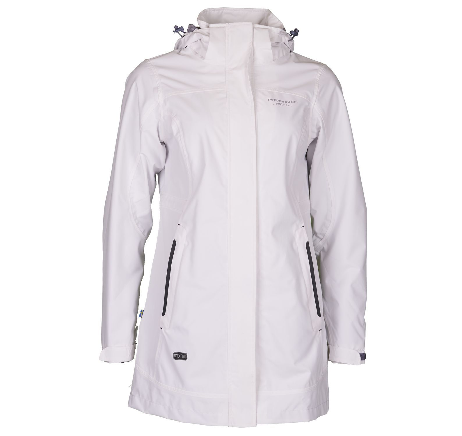 Musö Raincoat W, White, 48, Regnkläder