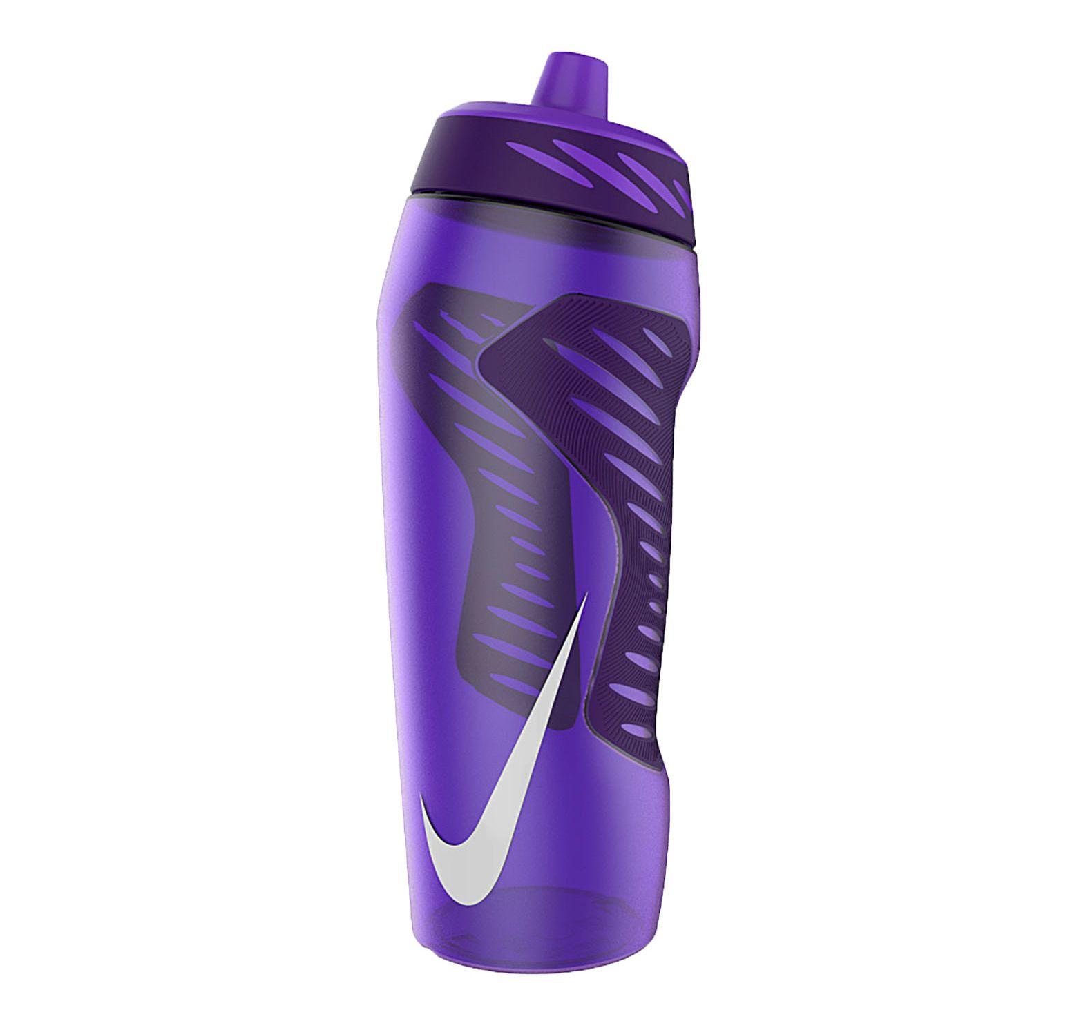 Nike Hyperfuel Water Bottle 24, Grape/Purple/White, 700, Nike