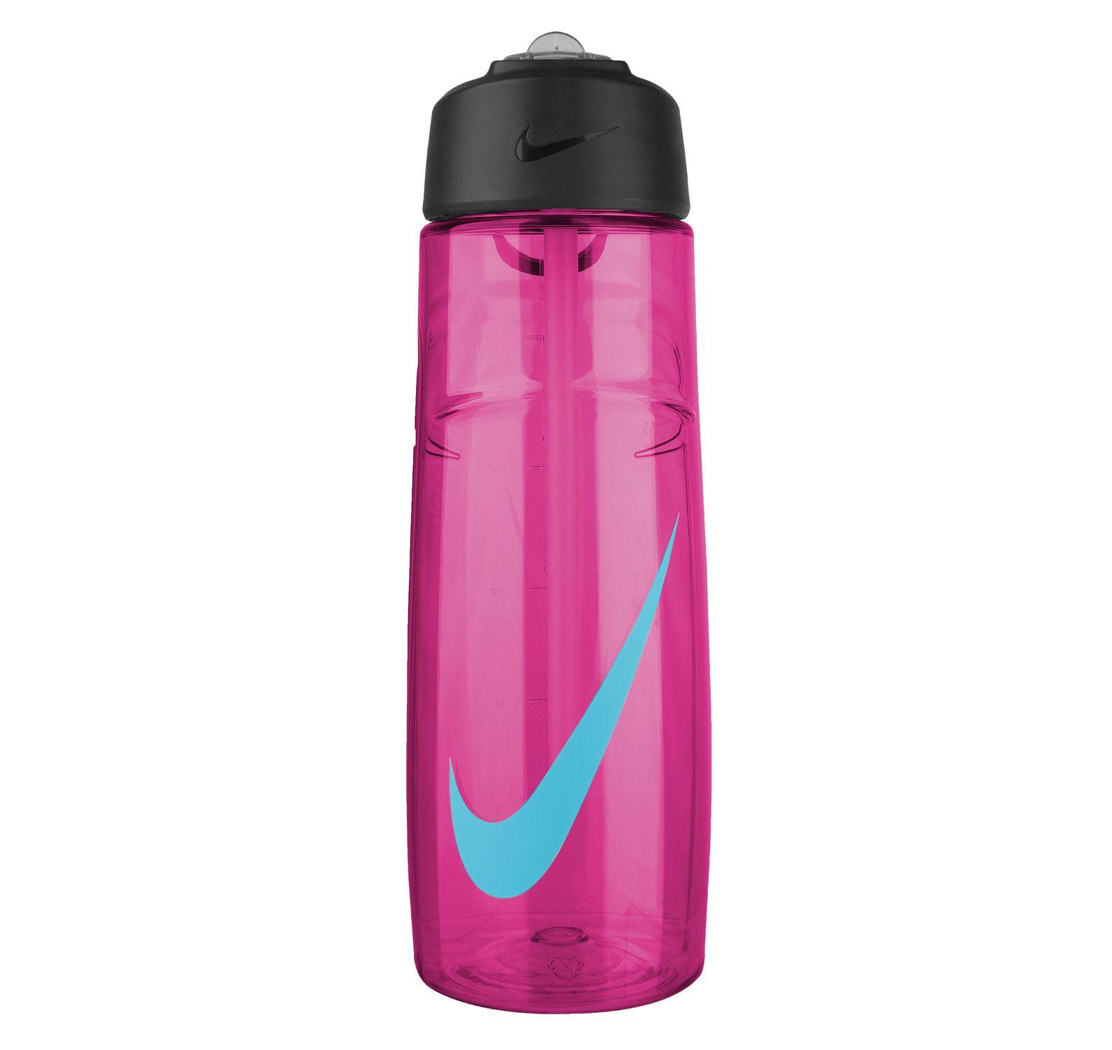 Nike T1 Flow Swoosh Water Bott, Vivid Pink/Gamma Blue, 700, Nike