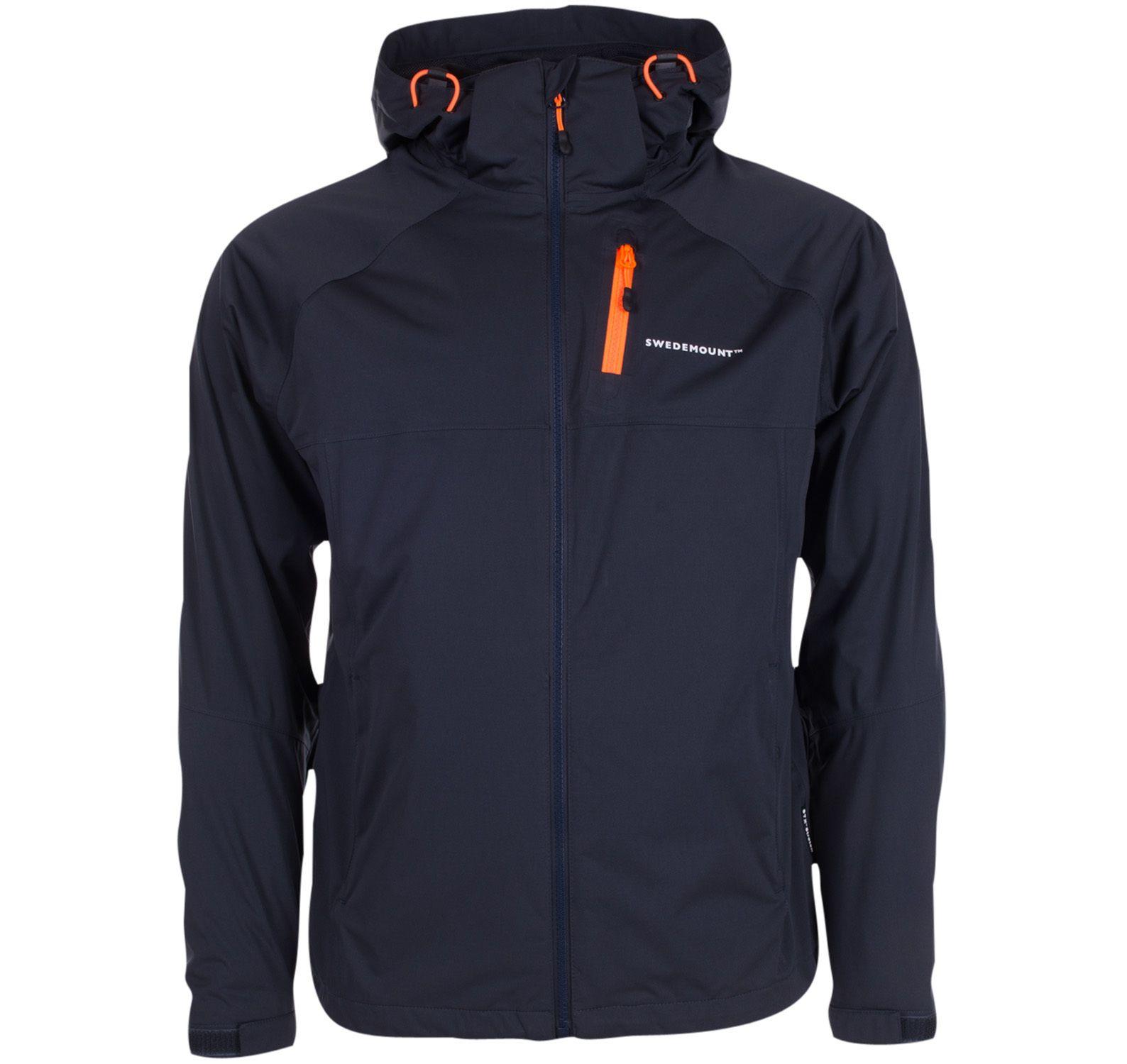 On Course Jacket, Charcoal/Orange, 3xl, Regnkläder