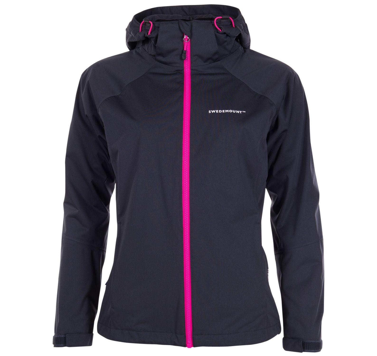On Course Jacket W, Charcoal/Fresh Pink, 36, Regnkläder För Golf