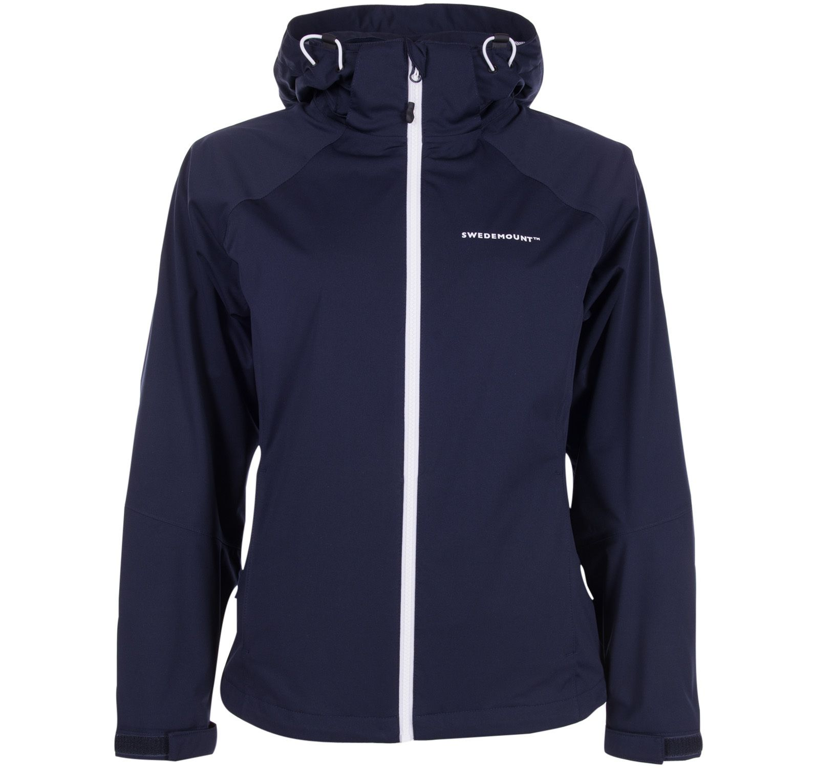 On Course Jacket W, Dk Navy/White, 36, Regnkläder För Golf
