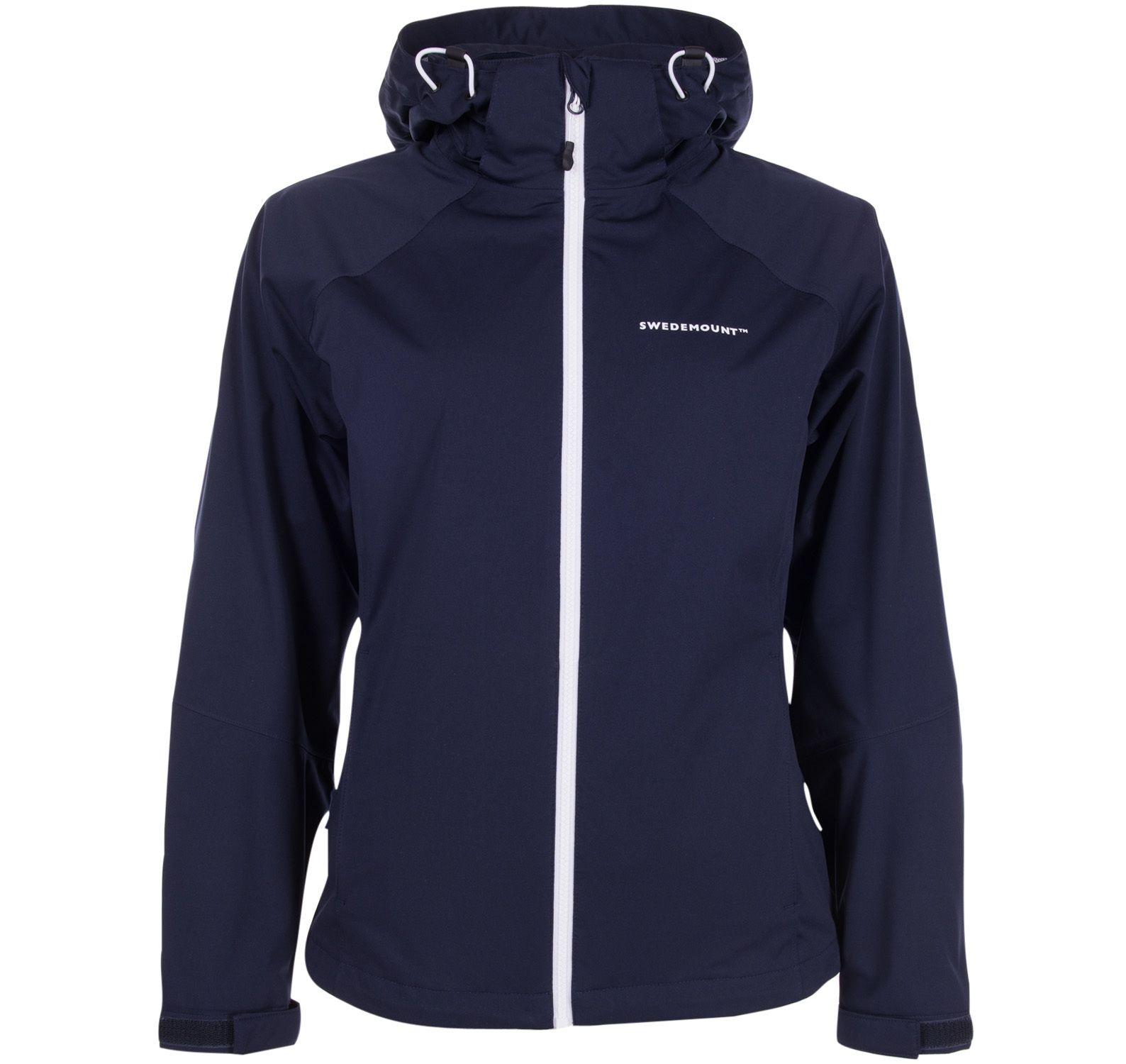 On Course Jacket W, Dk Navy/White, 36, Regnkläder För Golf