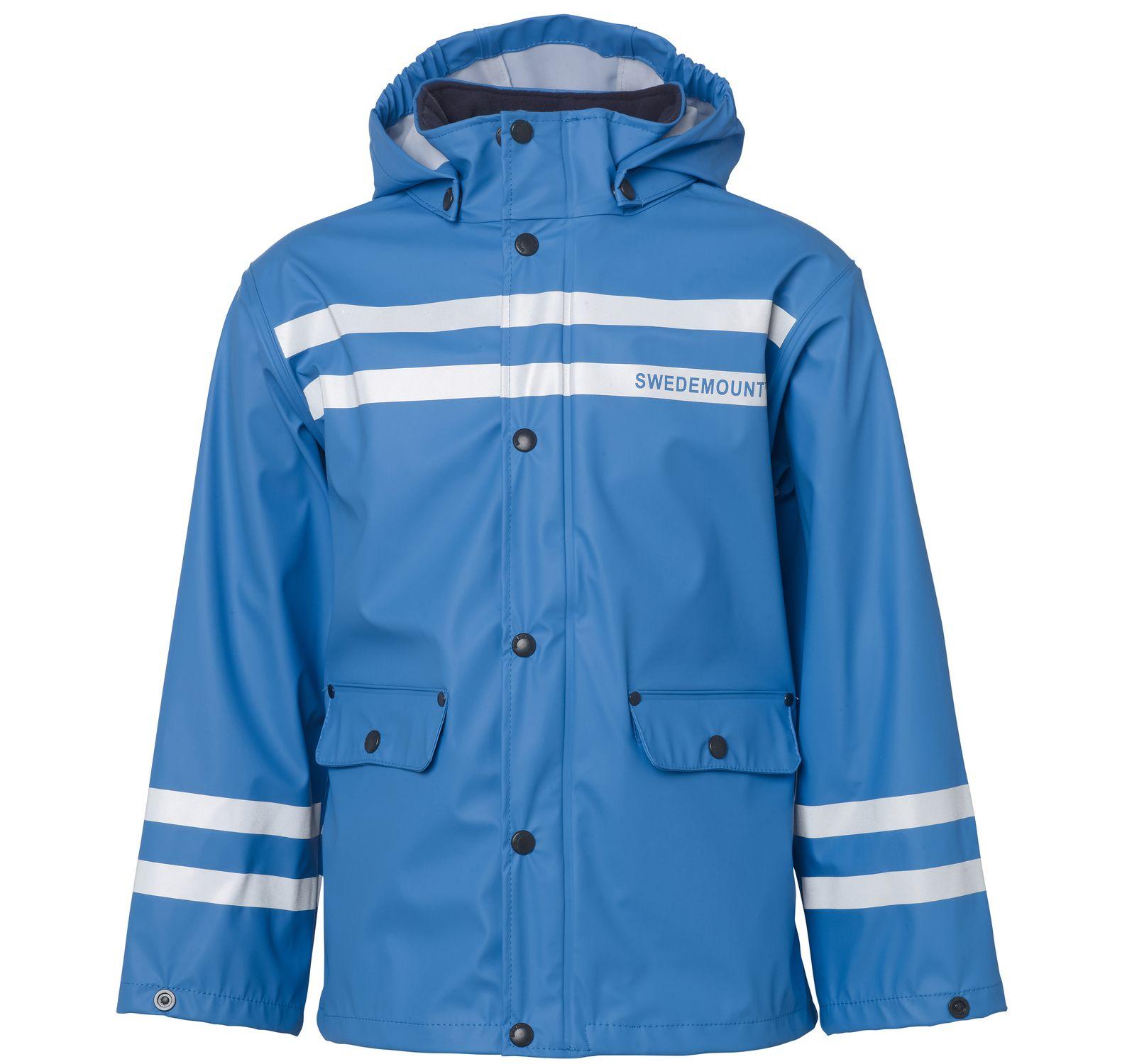 Drip Rain Jacket, Sea Blue, 110, Regnkläder