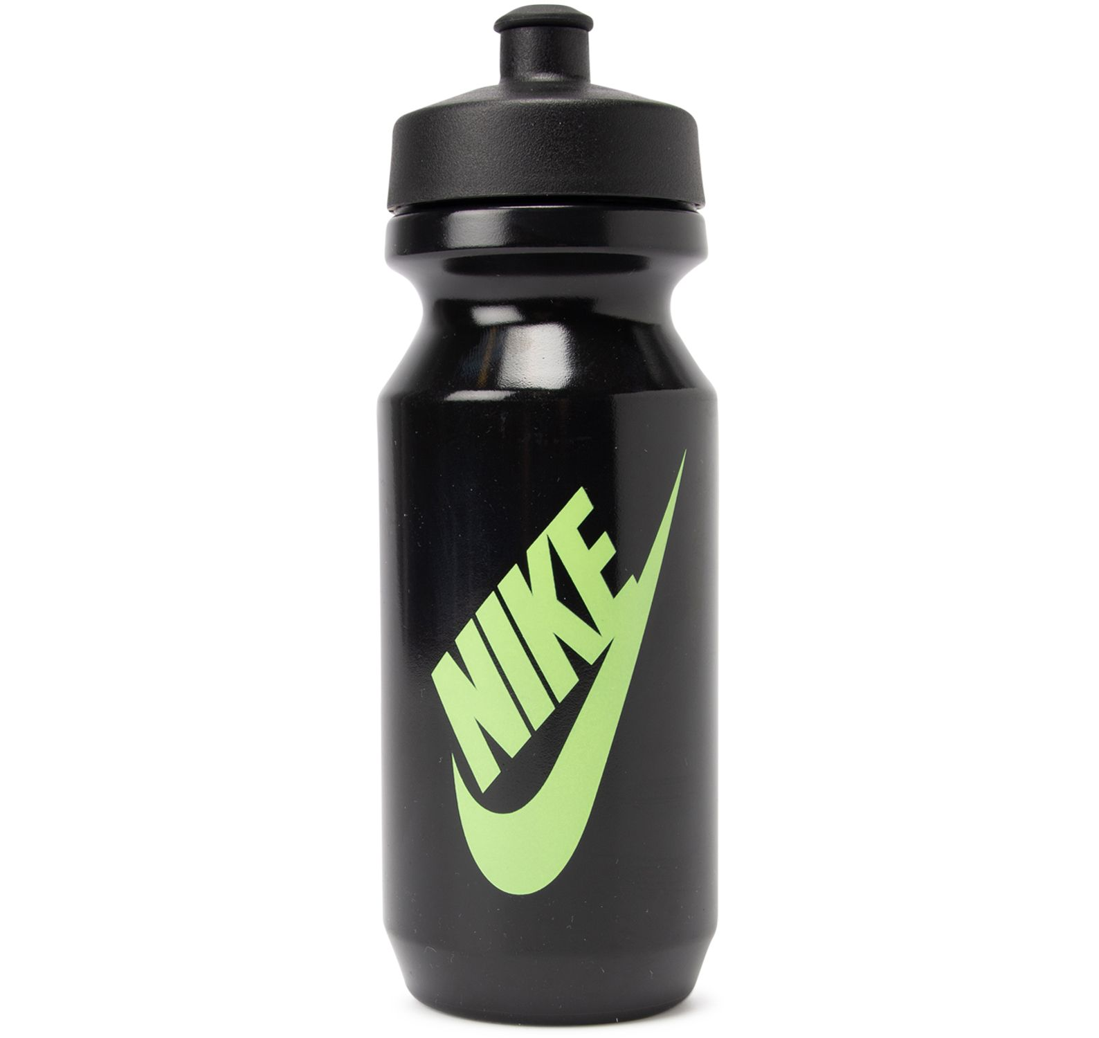 Nike Big Mouth Graphic Bottle, Black/Black/Ghost Green, 600, Nike