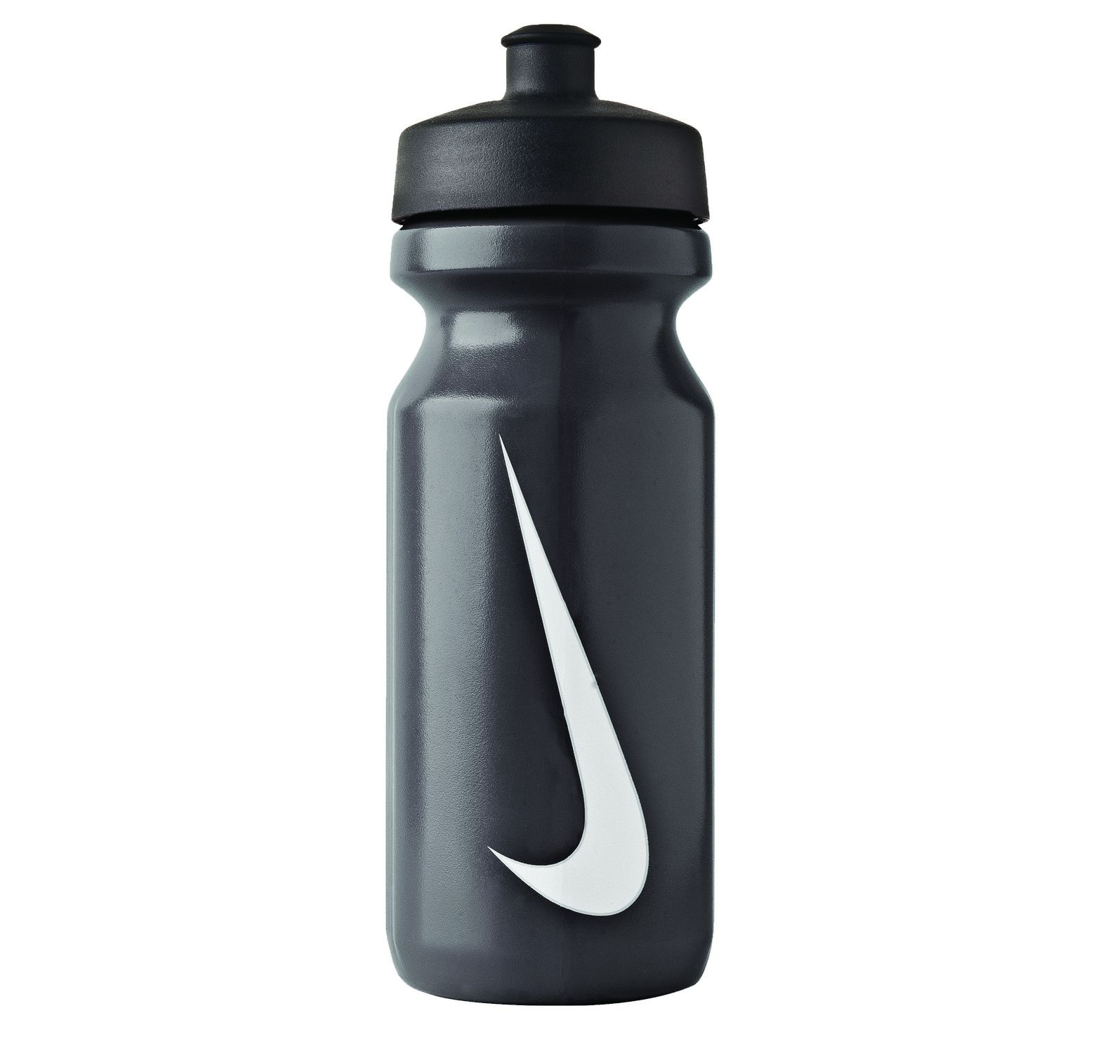 Nike Big Mouth Water Bottle, Black/Black/White, 600, Nike