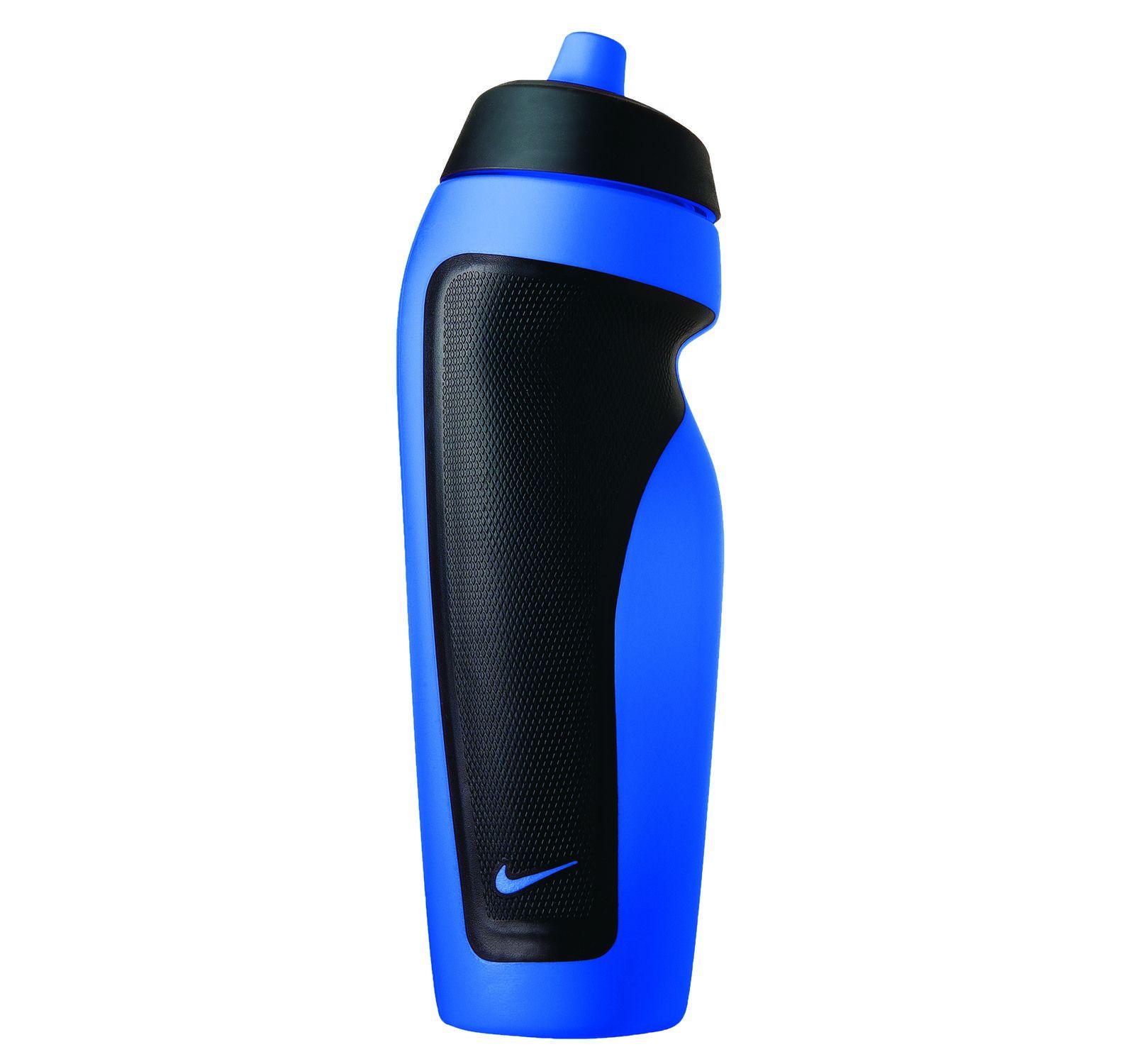 Nike Sport Water Bottle, Game Royal/Black, Onesize, Nike