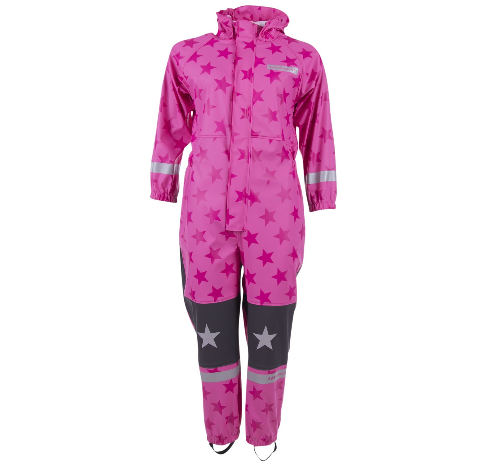 Skur Rainoverall, Pink/Dk Pink, 120, Regnkläder