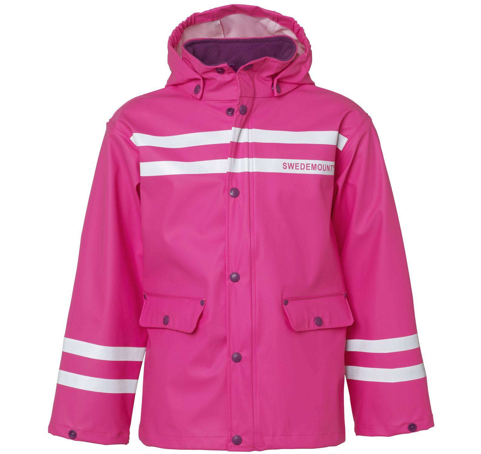 Drip Rain Jacket, Pink, 140, Regnkläder