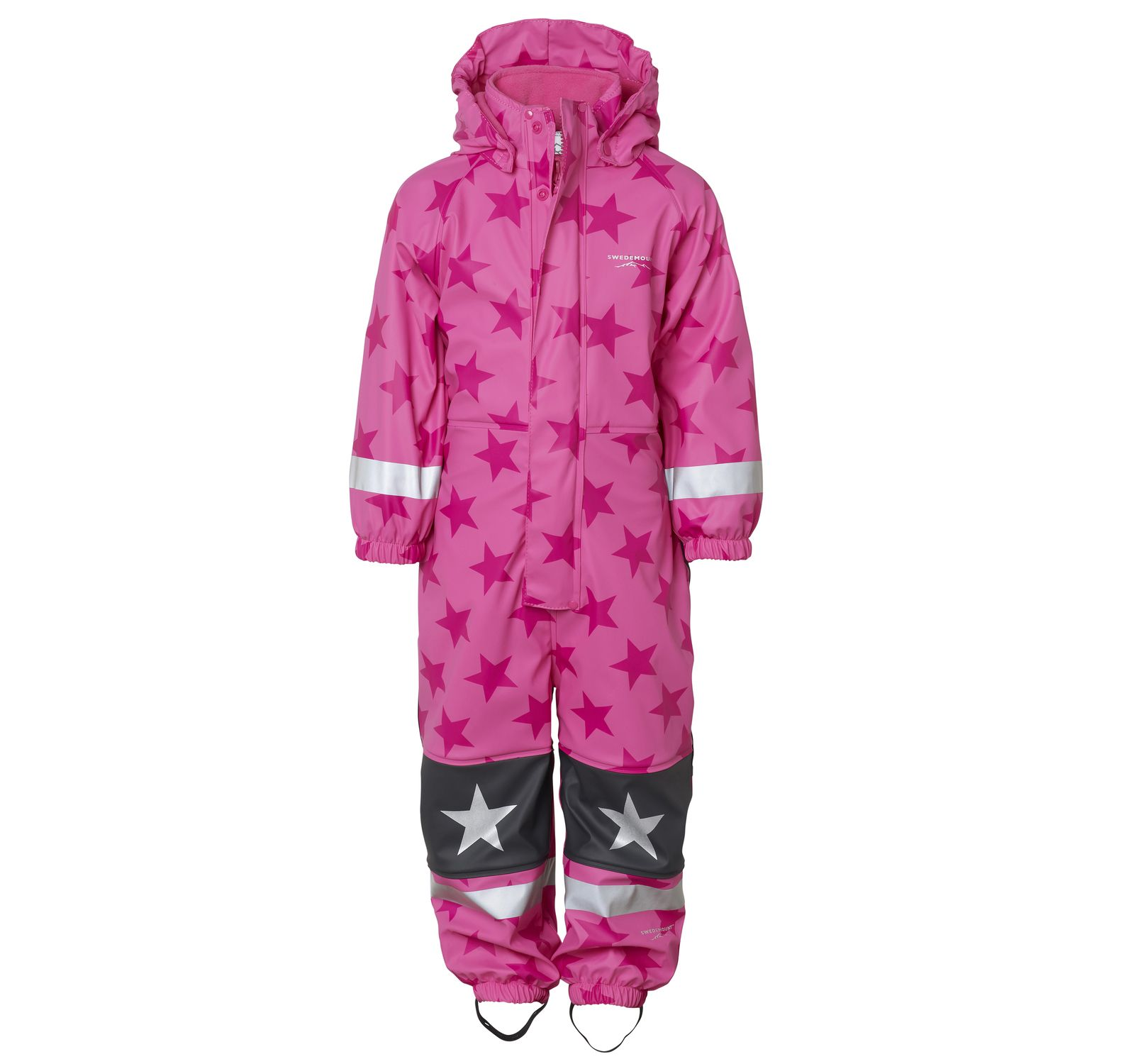Frost Rainoverall, Pink/Dk Pink, 120, Regnkläder