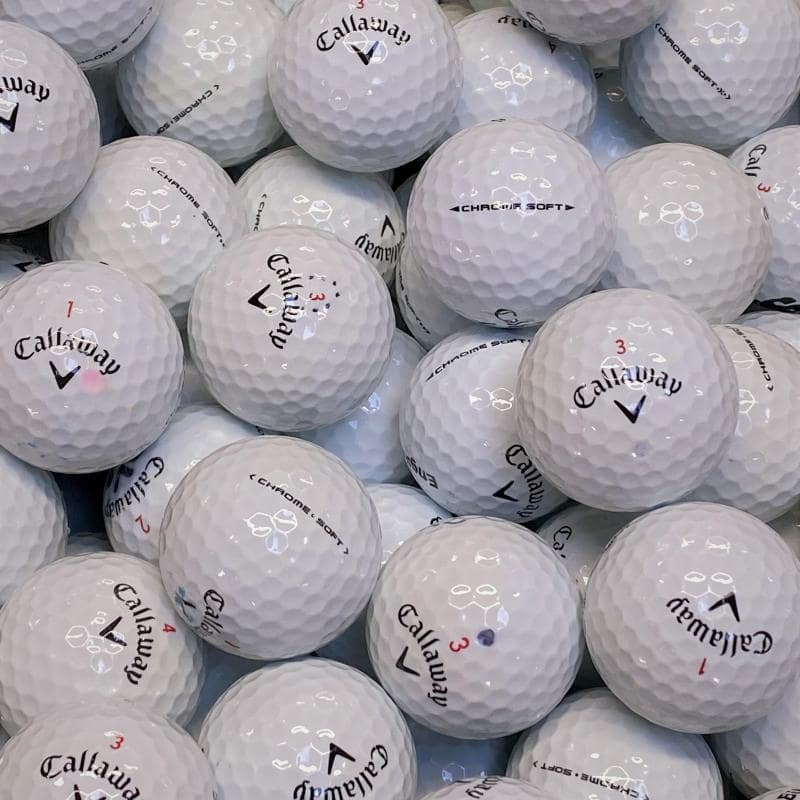 Callaway Chrome Soft Klass A/B Golfbollar -12 Pack
